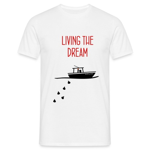 Dexter living the dream - Camiseta hombre
