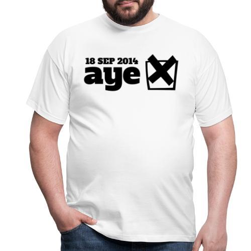 Vote Aye - Men's T-Shirt