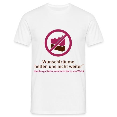 Elbphilharmonie Wunschträume - Männer T-Shirt