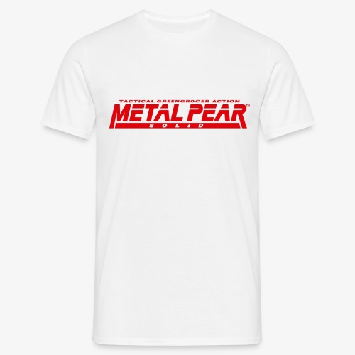 Metal Pear Solid: Tactical Greengrocer Action - Men's T-Shirt