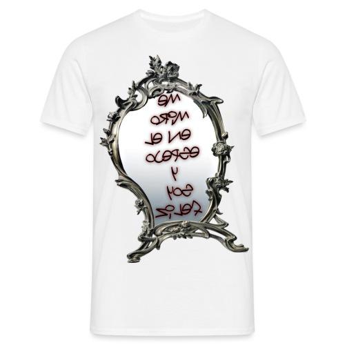 Para el Espejo:ME MIRO EN EL ESPEJO Y SOY FELIZ - Camiseta hombre