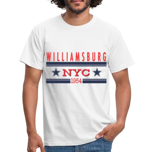 Williamsburg Hipster - Männer T-Shirt