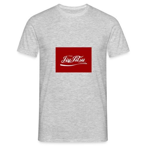Enjoy Jiu Jitsu logo - Mannen T-shirt