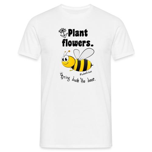 Bees8-1 Bringt die Bienen zurück! | Bookrebels - Men's T-Shirt