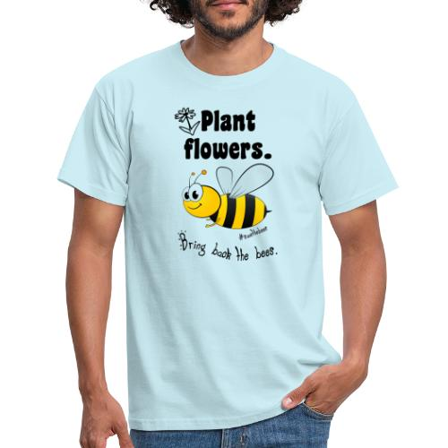 Bees8-2 Bringt die Bienen zurück! | Bookrebels - Men's T-Shirt