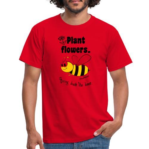 Bees8-2 Bringt die Bienen zurück!   Bookrebels - Men's T-Shirt