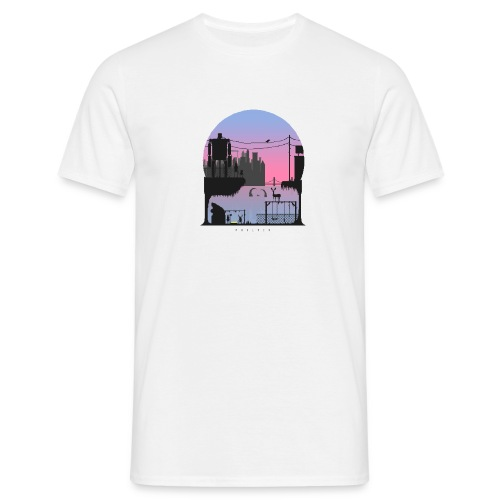 Pixel Globe - Men's T-Shirt
