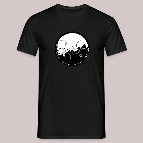Yin Yang dogs - Maglietta da uomo
