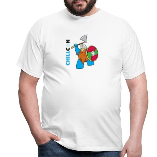 Viking Mascot - Colour - Men's T-Shirt