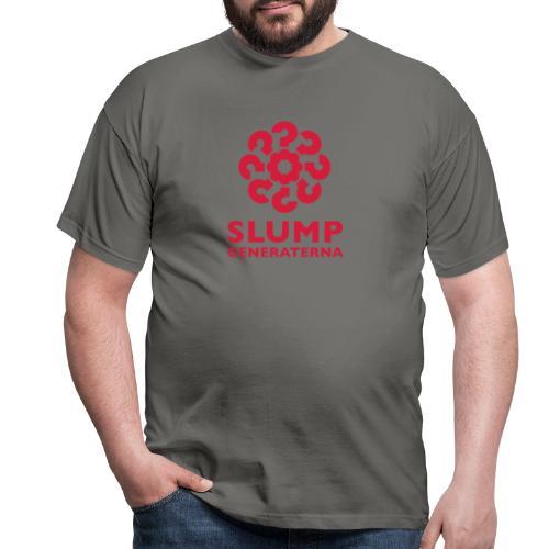 Slumpgeneraterna, logo röd - T-shirt herr