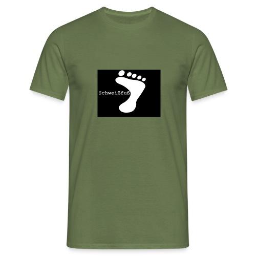schweissfuss - Männer T-Shirt