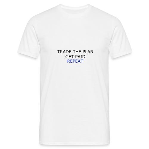 TRADETHEPLAN - T-shirt herr