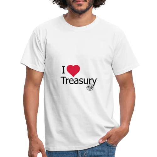 I LOVE TREASURY - Men's T-Shirt