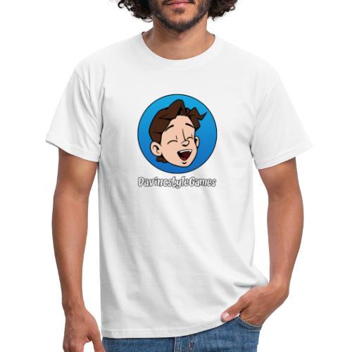 DSgames logo - Mannen T-shirt