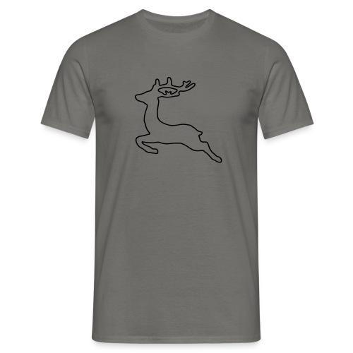 Jump Deer png - Männer T-Shirt