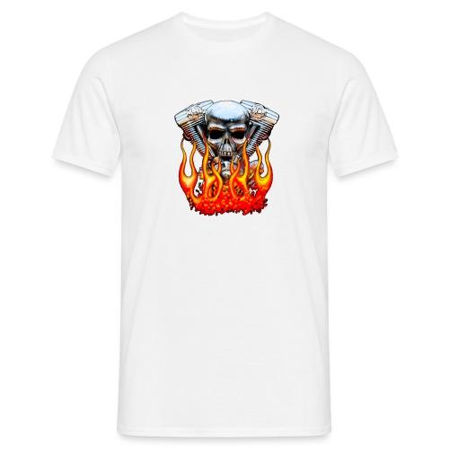 Skull Larmes de Sang - T-shirt Homme