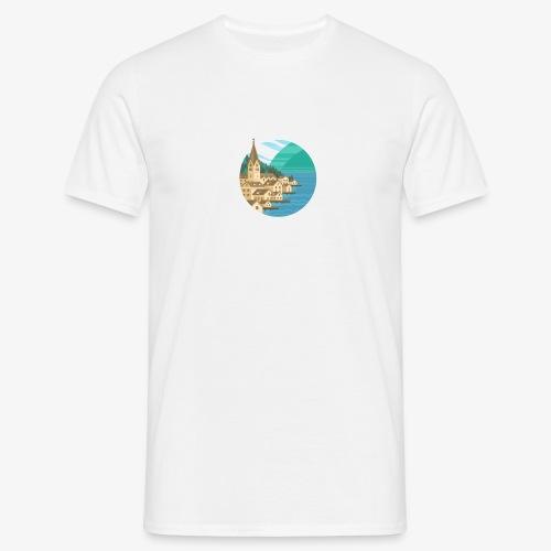 Hallstatt City - Männer T-Shirt