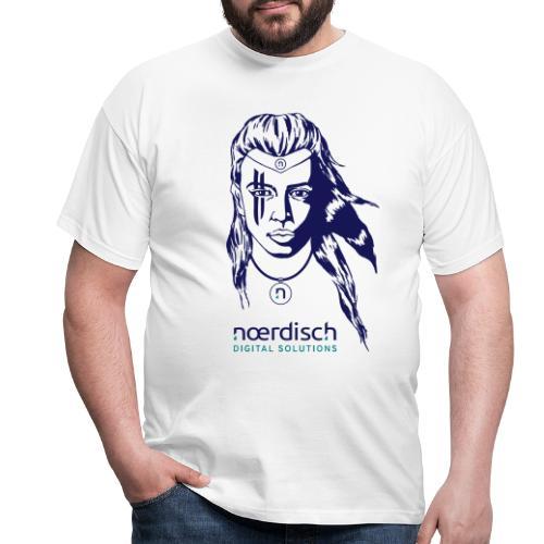Viking-Woman_Noerdisch_17 - Männer T-Shirt