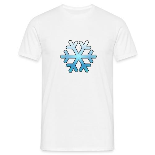 Schneeflocke - Männer T-Shirt