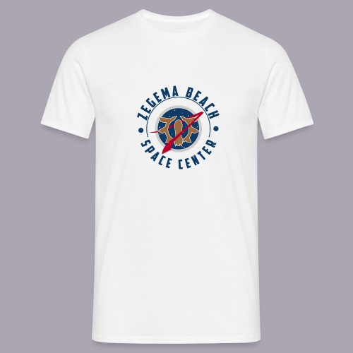Zegema Beach Space Center - T-shirt Homme