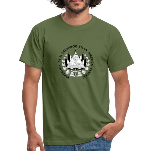 escudo de El Salvador - Camiseta hombre