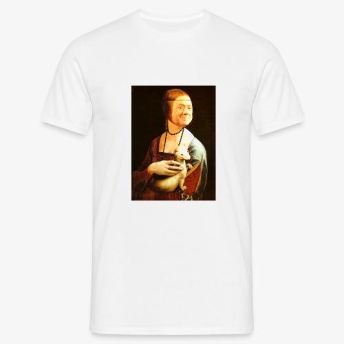 Cavaliere con l'ermellino - Maglietta da uomo
