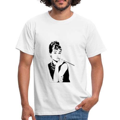audrey hepburn - Männer T-Shirt