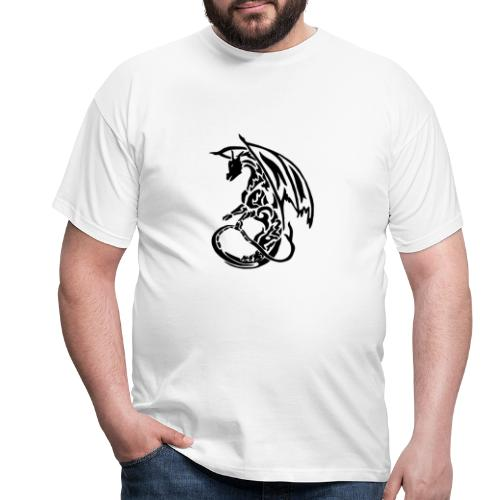T-shirt Eaven Tribal - Dragon Clair Homme - T-shirt Homme