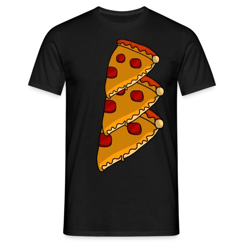 pizza - Herre-T-shirt
