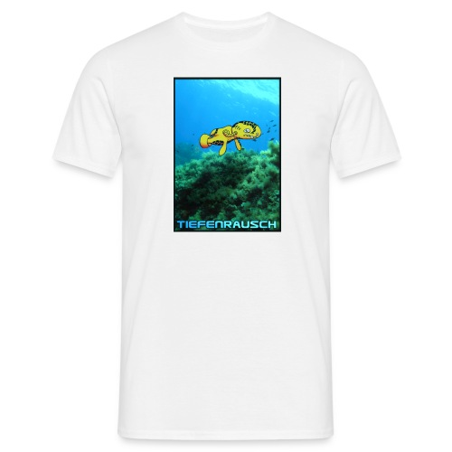 tiefenrausch Digitalmotiv - Männer T-Shirt