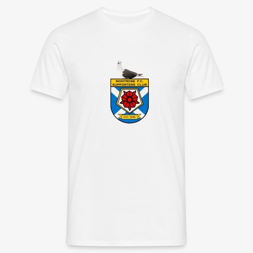 Montrose FC Supporters Club Seagull - Men's T-Shirt