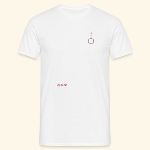 Kleines Kreuz - Männer T-Shirt