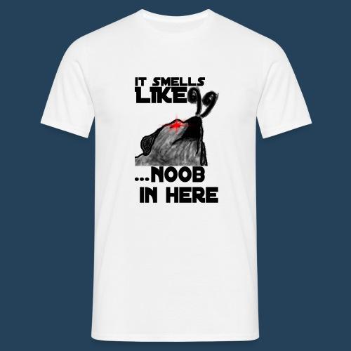 It smells like NOOB in here! - Männer T-Shirt