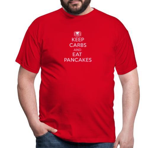 KEEP CARBS AND EAT PANCAKES - Maglietta da uomo