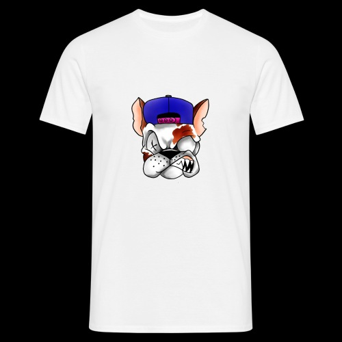 Angry dog - T-shirt herr