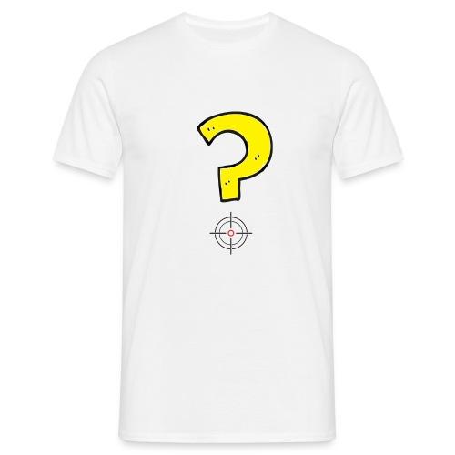mirino punto di domanda - Maglietta da uomo