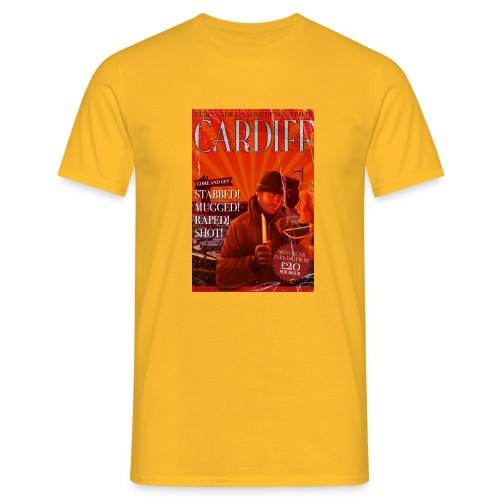 Cardiff - Men's T-Shirt