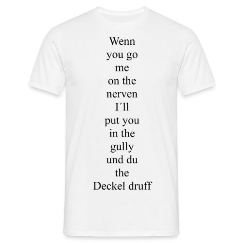 joke - Männer T-Shirt
