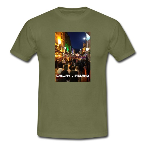 GALWAY IRELAND SHOP STREET - Men's T-Shirt
