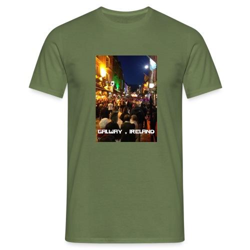 GALWAY IRELAND SHOP STREET - Men's T-Shirt