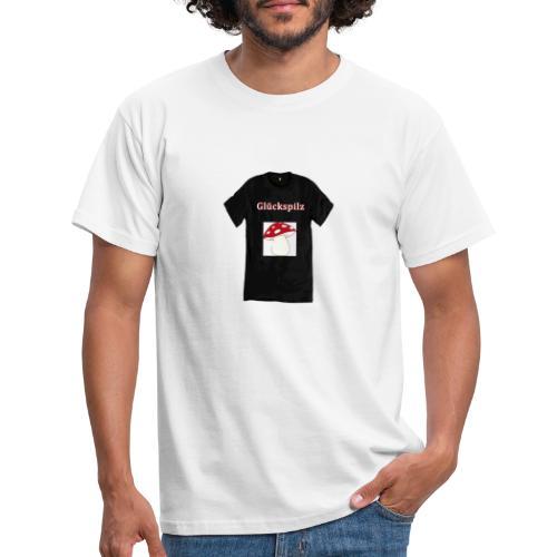 Glückspilz - Männer T-Shirt