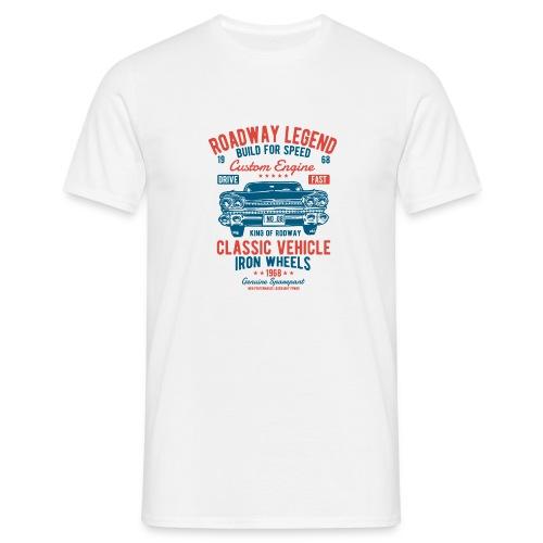 Roadway Legend - Mannen T-shirt
