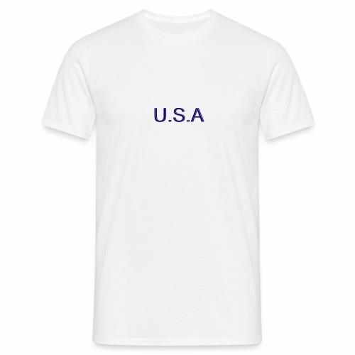 USA LOGO - T-shirt Homme