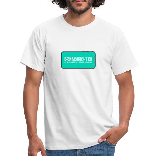 Nachricht.co Smartphone - Männer T-Shirt