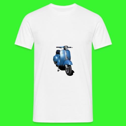 Vespa 50 Special Azzurra - Maglietta da uomo
