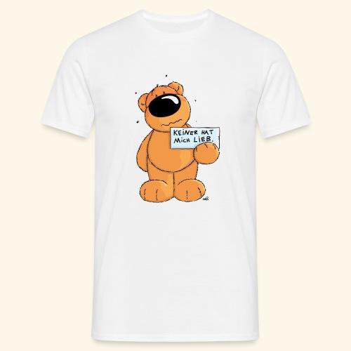 chris bears Keiner hat mich lieb - Männer T-Shirt