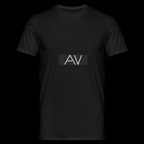 AV White - Men's T-Shirt