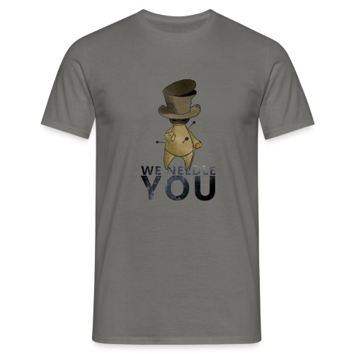 WE NEEDLE YOU - T-shirt Homme