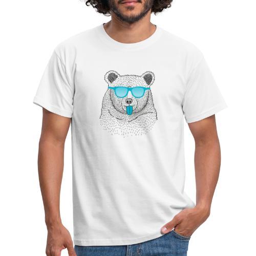 BABO blue Bär - Männer T-Shirt