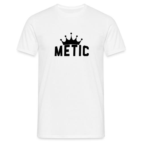 T Shirt design Black Bigger - Mannen T-shirt
